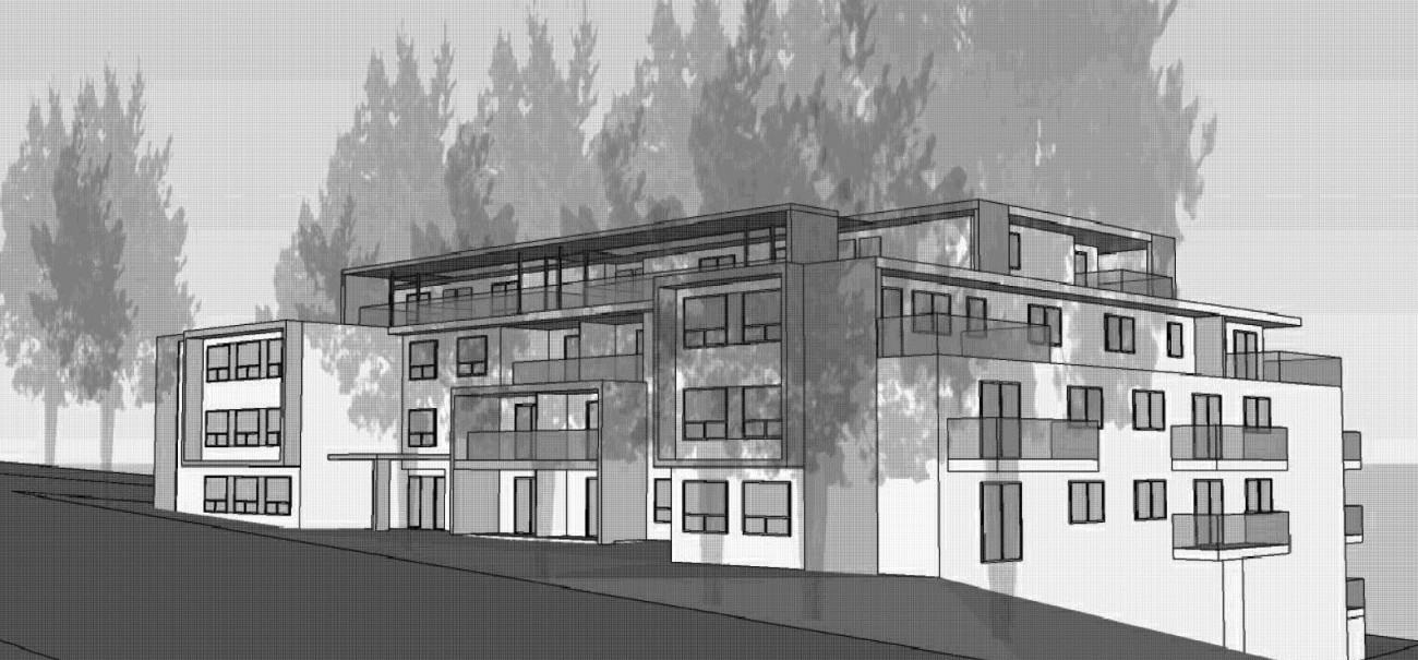 Artist sketch of new development at 111 West Windsor Road