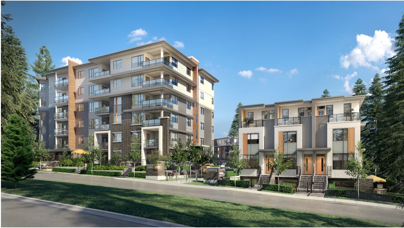 Rendering of proposed development at 1923 Purcell Way