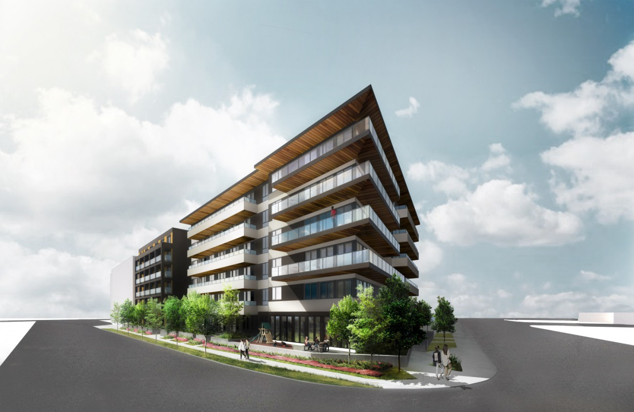 Rendering of the proposed development at 220 Mtn Hwy