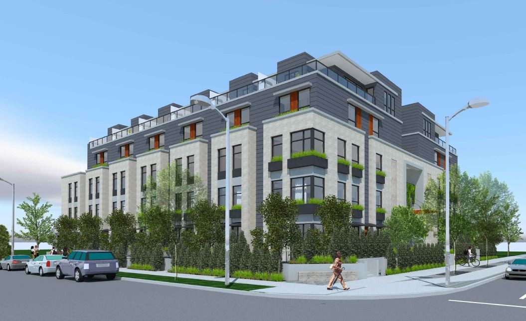 Rendering of proposed development at 342 Mountain Highway