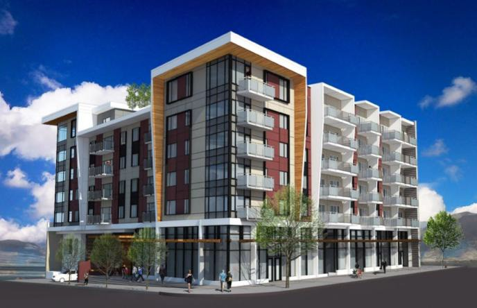 Render of new development at 467 Mountain Highway