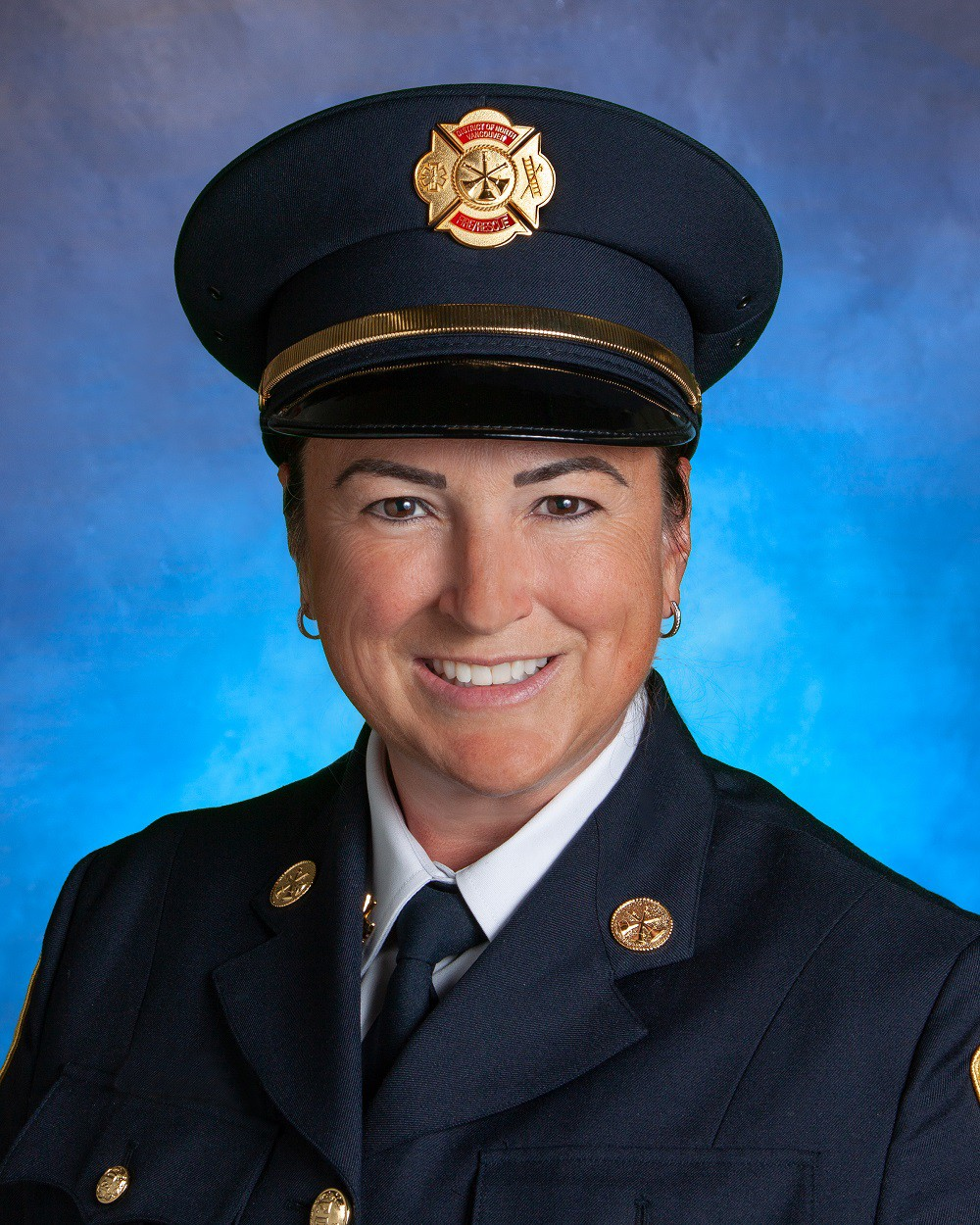 Assistant fire chief Haida Fortier