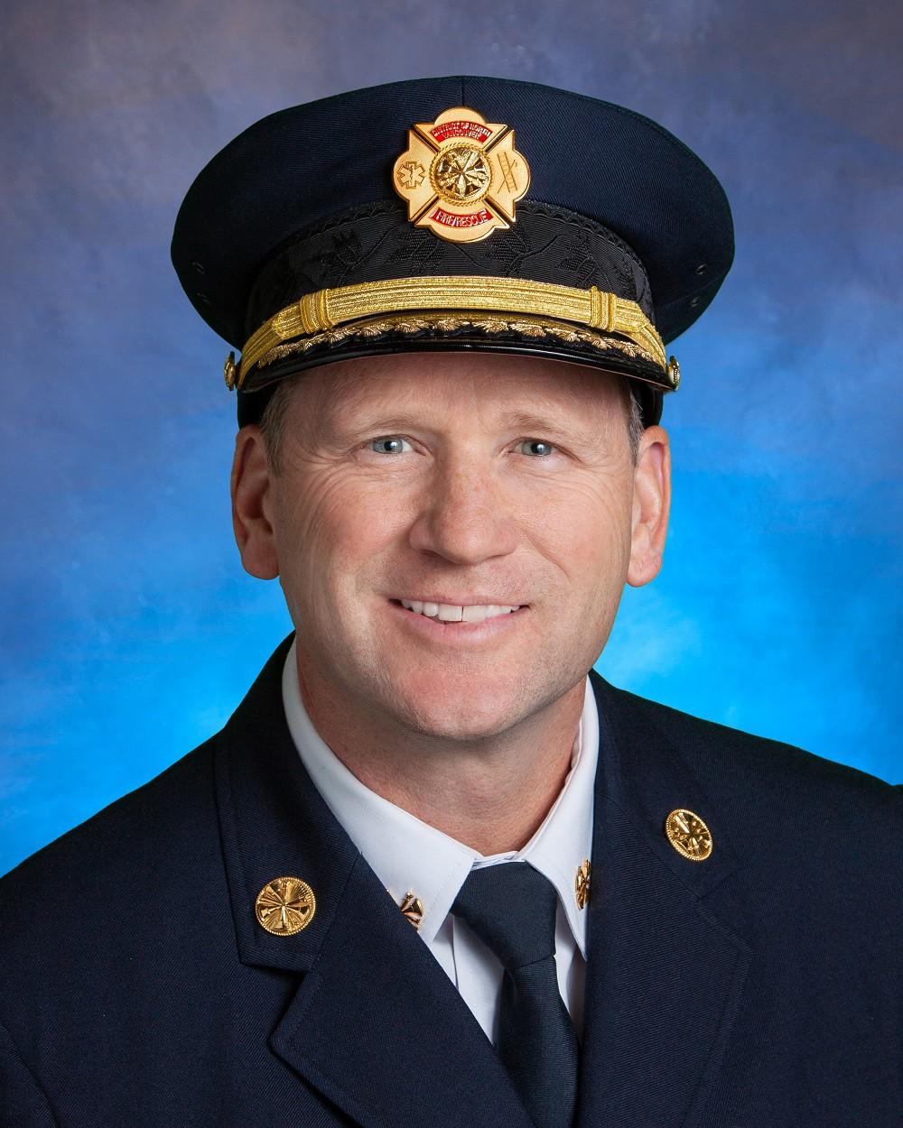 Deputy fire chief Wayne Kennedy