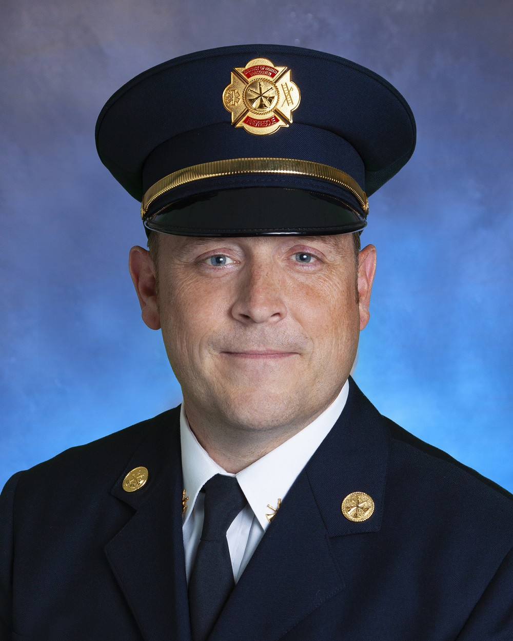 Assistant fire chief Walter Warner