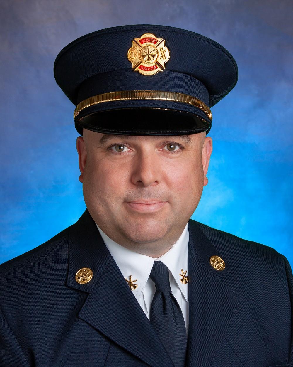 Assistant fire chief brad gaudette
