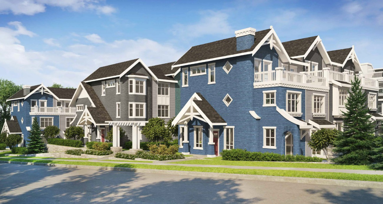 Render of proposed development at 3382 Gaspe Place