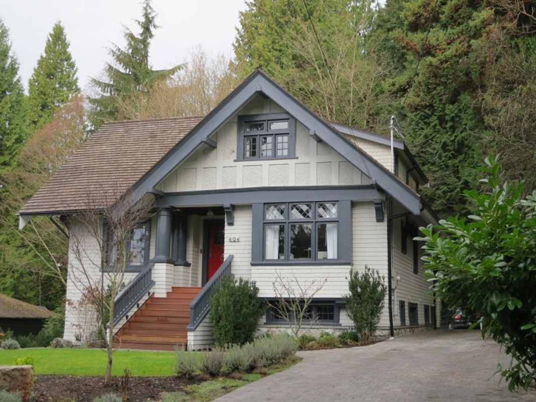 Image of a heritage home in the District