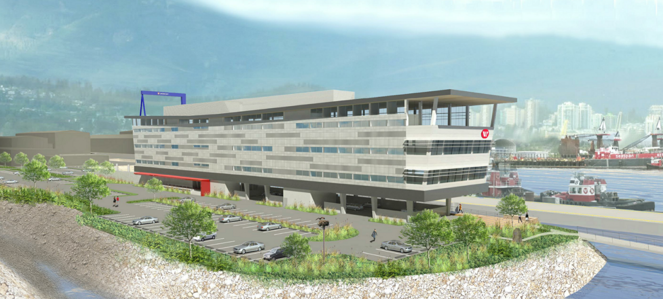 Render of the new Seaspan head office