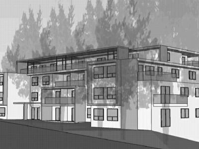 Artist sketch of new development at 111 West Windsor Road