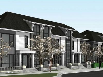 Rendering of proposed development at 3288 brookridge drive