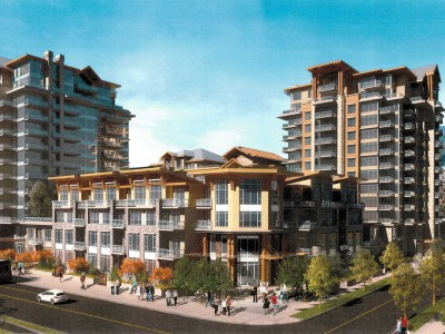 Rendering of the Bosa development in Lynn Valley