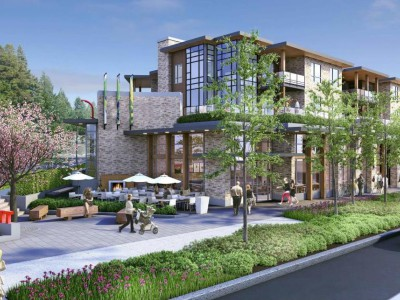 Render of the Grosvenor development in Edgemont Village