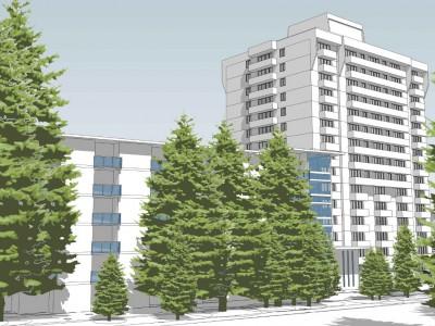 Render of propsed development at Kiwanis Lynn Manor