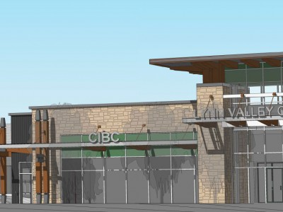 Rendering of proposed refresh of Lynn Valley Mall