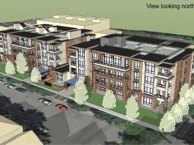 Render of a proposed development at 1210 W 16th st