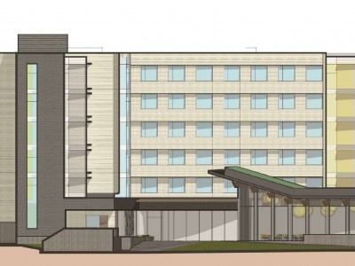 Rendering of proposed development at 2055 Purcell