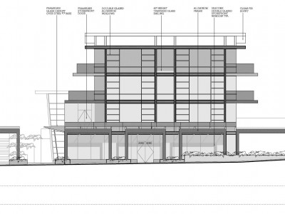 Elevation drawing for proposed development at 2900-2930 Lonsdale Ave