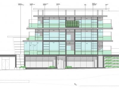 Elevation of proposed development at 2900 Londsale