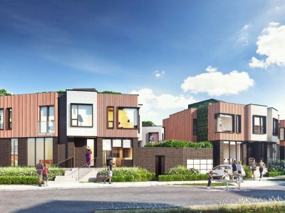 Rendering of proposed development at 3155 Canfield