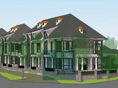 Revised render for proposed development in Edgemont Village