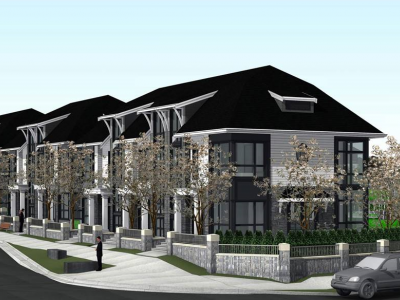 Rendering of proposed development at 3288 Brookridge Dr