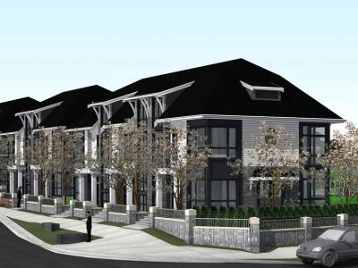 Rendering of proposed development at 3288 Brookridge Dr