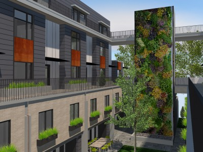 Render of new development proposed for 1515-1537 Rupert