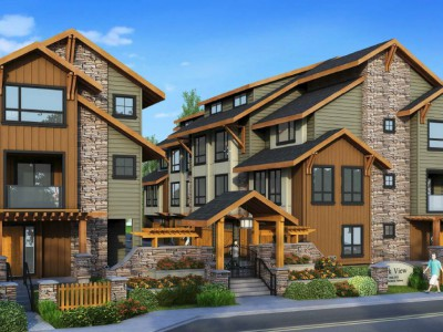 Rendering of proposed development at 3468 Mt Seymour Parkway