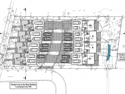 site plan for new development at 4670 capilano road