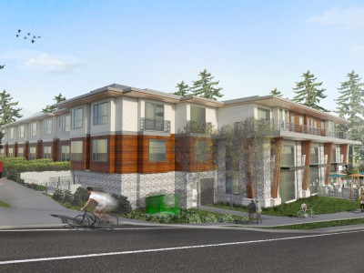 Render of new development proposed for 5020 Capilano Road
