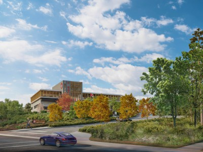 New Maplewood fire and rescue centre rendering