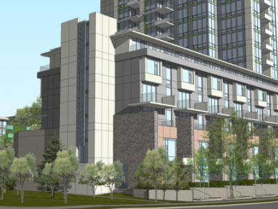 Render of Seylynn development phase 2 building a from back