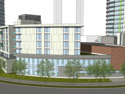 Rendering of Seylynn development back of phase 2 building d