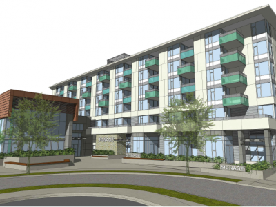 Rendering of Seylynn development phase 2 building d