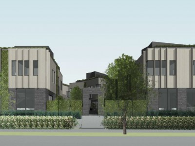 Rendering of proposed development on Canfield Cres