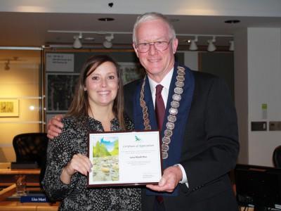 Photo of 2017 civic award winner Lana MacArthur