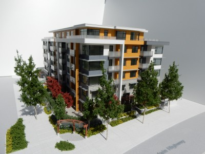 Model: Crown Street overhead