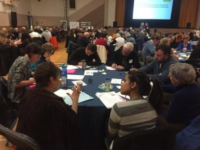 Participants at the Delbrook Lands workshop