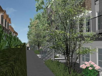 Rendering of proposed development at 2049 Heritage Park Lane