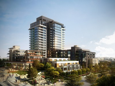 Rendering of Larco development