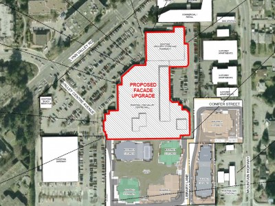 Site plan for proposed lynn valley mall reno