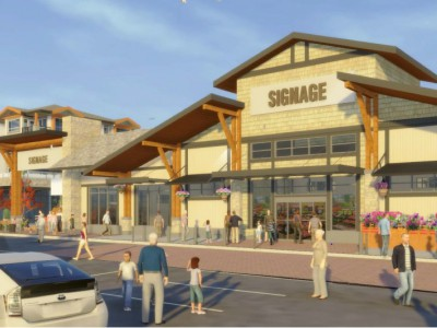 Rendering of Northwoods Village ADP award winner