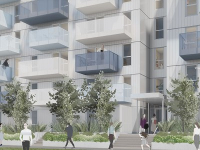 Rendering of proposed development at 267 and 271 Orwell St