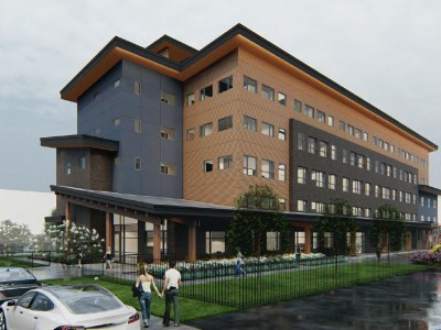 Rendering of proposed development on W16th Ave