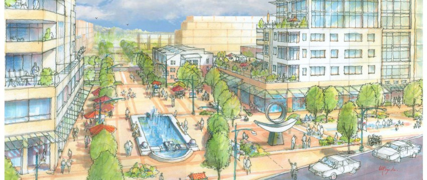 Rendering of Lions Gate Village