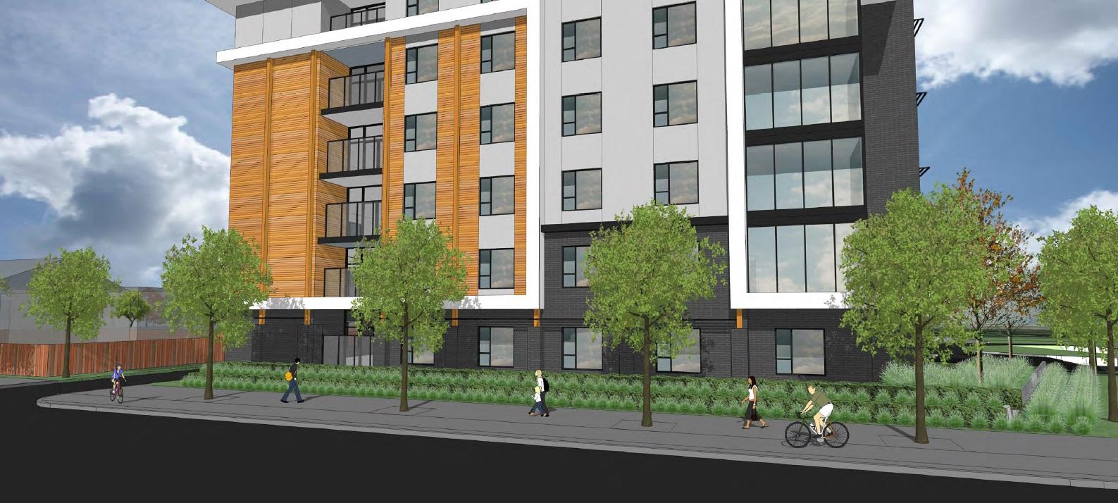 1502 1546 oxford street creekstone care centre for Stone creek development